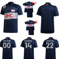 2020 2021 Nova Inglaterra Futebol Jerseys Home Away Buksa Bou Bunbury Revolução MLS 20 21 Homens de Futebol e Camisa Miúdos