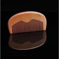 Деревянная комбинация 110 мм Mahogany без ручки расчески антистатические DIY леди маленькие волосы кисти для волос домашний парикмахерский салон высокого качества 1 4HS G2
