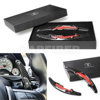 Carbon Fiber Steering Wheel Shift Paddle Extension For BMW X5M X6M F85 F86