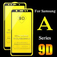 HOT 9D Защитное стекло для Samsung Galaxy A6 A7 A8 A9 2018 Star Lite Plus Screen Protector полное покрытие для J2 J3 J4 J6 J8 J7 Plus Премьер S10e