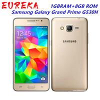 الأصلي مقفلة Samsung Galaxy Grand Prime G530H 5.0 بوصة رباعية النواة 1gbram + 8GB ROM المزدوج سيم الروبوت تم تجديده