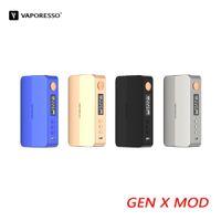 Vaporesso Gen X Box Mod Powered By Double 18650 Batterie 220W GEN TC Mod OLED Display Compatible avec NRG-S Réservoir 100% authentique