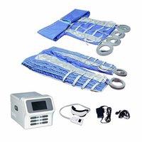 24 Air Bags Air Pressure presoterapia Drenagem Linfática Máquina presoterapia Whole Body Massage Body Detox corpo emagrecimento máquina