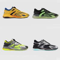 Мужчины Женщины Ultrapace R Sneaker Светоотражающие Тройной тапки резиновые Двойной G Носок Обувь Knit Fabric Кроссовки нашивки Runner обувь с коробкой