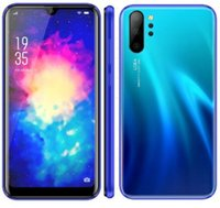 Smartphone p30 note10 h10 h20 Telefone 3D Android 8.1 MTK6580A Quad-Core-Handy Dual Sim zeigen 4gb RAM 64GB ROM 3800mAh Gefälschte 4G LTE DHL