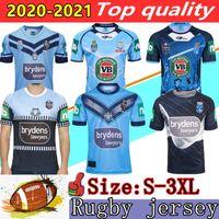 Novo 2020 2021 NSW Blues Home Pro Jersey NSW Estado de Origem Rugby Jerseys 18 19 20 Sul Wales Rugby Jersey