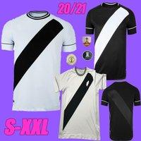20 21 Club Vasco da Casa Away Gama Futebol Jerseys 2020 2021 Maxi Rios Paulinho Fabiano Muriq Custom Black White Football Shirt