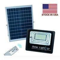 LED 투광 조명 야외 조명 50W 100W 150W 태양 광 홍수 빛 방수 IP67 정원 조명 원격 제어