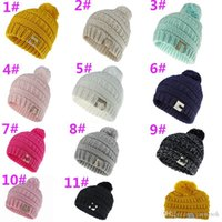 Cute Baby Knitted Hat Girls Winter Soft Pompon Cap Boys Warm...