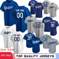 Cody Bellinger Clayton Kershaw su misura 2020 nuovo baseball Jersey Mookie Betts Justin Turner Corey Seager Mike Piazza Enrique Hernandez Hot