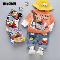IMYSHOV TODDLER Bébé Girl Girl Girl Vêtements Ensembles garçons Girls Vêtements Tenue de vêtements Boutique Korean Kids Outfit Enfants Costume Enfants pour YRS X0923