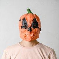 2020 Cadılar Bayramı Kabak Maskeler Cosplay Tam Yüz Tasarımcılar Unisex Terör Korkunç Maske Kapak Kadın Erkek Lateks Parti Festivali Tedarik LY9273 Maske