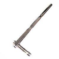 Acero inoxidable uretral Camilla expansión de uretra masculina Chastity Sonidos sólido 9mm 180mm metal pene Plug émbolo
