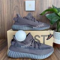 상자와 최고 품질 카니 예 웨스트 (Kanye West) 쇠 찌끼 지구 아스 리엘은 신발을 실행 Yecheil Yeshaya Zyon 얼룩말 아마 리넨 정적 남성 여성 스포츠 운동화
