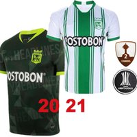 20 21 Atletico Nacional Medellin H.BARCOS Soccer Jersey Colombia Club Medellin 20120 Home Football Man kids Sports Uniform Football Shirt
