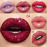 2020 Cmaadu del brillo de Flip brillo de labios de terciopelo mate Lip Tint 6 colores a prueba de agua y dura más tiempo Diamond flash Brillo Labial Líquido