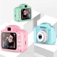 Les nouvelles caméras pour enfants enfants HD écran Chargable numérique USB Mini caméra carte Micro Cute TF jeu électronique Jouets d'extérieur Photographie