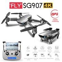 Salmof SG907 SG901 GPS Drone Wifi FPV ile 1080 P 4 K HD Çift Kamera Optik Akış RC Quadcopter Beni Takip Edin Mini Dron vs E520S