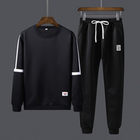 Männer Tracksuits Frühling 2020 beiläufige Mens-Set Outwear Sweatshirts Sweartpants Zweiteiler Male Breath Sweat Anzüge Man Mode