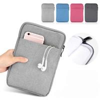 """Couverture de sacs de pochette à manches de comprimé universel de 11 pouces pour Kindle iPad Pro 10.5 """"10,2"""" 9,7 """"Coton épais coton"""