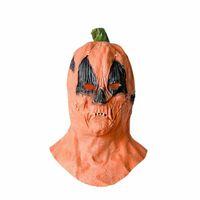 Cadılar Bayramı Kabak Maskeler Cosplay Tam Yüz Maske Tasarımcılar Unisex Terör Korkunç Maske Kapak Kadın Erkek Lateks Festivali Oyuncak LY9273 Malzemeleri