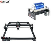 CNC Engraver del laser Kit di scultura di legno incisione tagliatrice fai da te Logo Immagine Marcatura addebbitato YRR asse Y Ruota Incisione Module