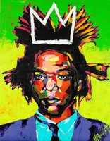 Jean Michel Basquiat Self Portrait 02 Abstract wall art Deco...