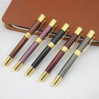 Fonte Canetas Dika Wen Marca Nobre Gold Clip Pen Nib Office Negócio Presente Tinta