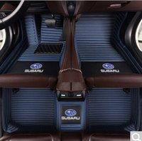 스바루 포레스터 2,006에서 2,019 사이 전천후 방수 및 미끄럼 방지 자동차 매트 비 독성 및 맛도있다 적합