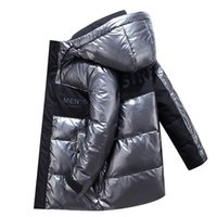 2020 autumn and winter new men's hooded casual down jacket thick and warm men's winter clothing 805