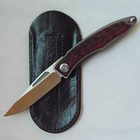 Chris Reeve EDC faca 61HRC M390 100% bolso punho titânio lâmina dobrar faca de caça Sobrevivência faca facas presente 04.915