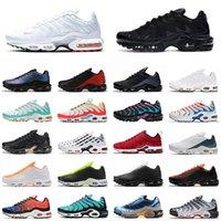 tn plus se فقط أسود أبيض أحذية رياضية مدرب