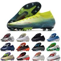 Mercurial Superfly VII 축구 신발 360 Elite AG 12 Cr7 SE Ronaldo Neymar Mens 7 축구 부츠 저렴 한 원래 클리트