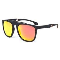 Nova Moda Homens e mulheres Esporte óculos polarizados TR90 Quadro E metal braços com anti-derrapante Pad Arrefecer Outdoor Eyewear