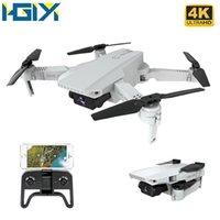 HGIYI KF609 RC بدون طيار مع 720P 4K HD كاميرا فيديو تسجيل مباشر WIFI FPV الارتفاع حفظ طائرات بدون طيار طوي كوادكوبتر VS M71