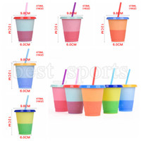 16oz Color Changing Cups PP Material Temperature Sensing Cup...