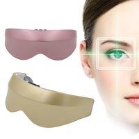 Ricaricabile magnetico Vibration Massager dell'occhio di bellezza dell'occhio antinvecchiamento Cura Rilassante Strumento