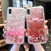 iPhone Para o Caso dinâmica Líquido Glitter Telefone 11 Pro SE XR XS MAX X 6 7 8 Plus Sailor Moon Magic Stick Quicksand tampa bonito Macio