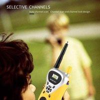 De dos vías de intercomunicación Mini Radio Profesional electrónica walkie talkie Niños Niño de mano portátil Juguetes radio de dos vías