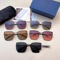 2020 neue Mode-Design-Sonnenbrille, Frau Luxus-Designer-Sonnenbrillen, perfektes Design für alle Arten von Gesicht Gläser 5 Farben hohe Qualität G6210