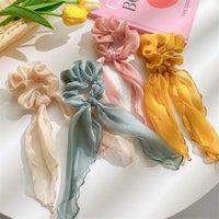 Femmes rubans élastiques anneau cheveux Bandeaux Mignon Porte-Ponytail INS Mode Stretchy Filles Chouchous Bandeaux Accessoires cheveux Nouveau D9310