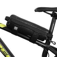 Sahoo extérieur vélo Sac de guidon du vélo Top Tube Sacoche cadre avant Faire du vélo Coincé sur le stockage