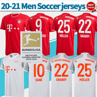 Munich shirt Home red soccer jersey #9 LEWANDOWSKI #25 MULLE...