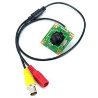 700TVL CMOS couleur mini 3.7mm lentille 7040 mini caméra sténopé caméra de surveillance de sécurité avec BNC Câble vidéo