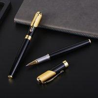 Penas esferográficas Guoyi C005 Baozhu Caneta Confortável Acredita 0.5mm Presentes de escritório de negócios de metal high-end e logotipo corporativo Assinatura personalizada