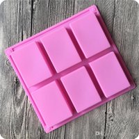 Free Shipping 8 *5 . 5 *2 . 5cm Square Silicone Baking Mold Ca...
