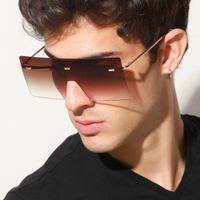 Moda ponadgabarytowe okulary przeciwsłoneczne Unisex Retro Vintage Okulary Dźwiękowe Okulary Duże Odcienia
