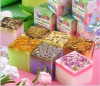 Yüz Sabunu toptan Beyazlatma Toptan Çiçek esansiyel yağ sabunu Gül Hediye El yapımı uçucu yağ sabunu