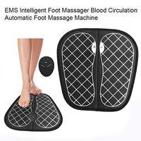 자극기 발 마사지 매트는 혈액 순환을 해제 아픔 통증 건강 관리를 개선 전기 EMS 발 마사지 패드 피트 근육