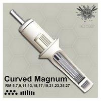 Bigwasp Standard Tattoo Needle Patronger - Böjda Runda Magnums 5/7/11 / 11/12/27 / 17/21/23 / 25 / 27RM CX200808